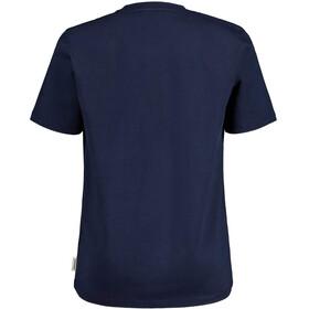 Maloja HeckenkirscheM. SS T-shirt Herrer, blå